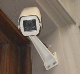 Überwachungskamera analog